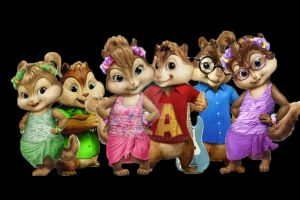 Chipettes and Chipmunks by Pat1310