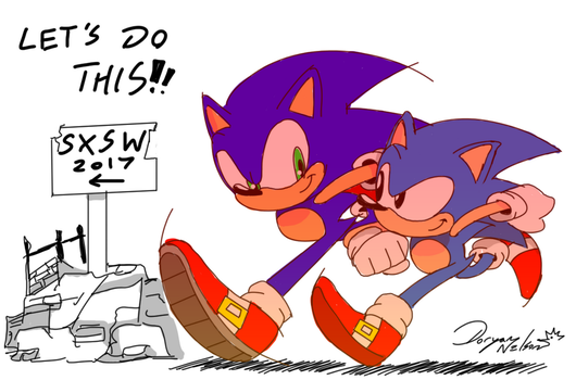 Project Son- err... SONIC FORCES! YES!! by DoryaNelson