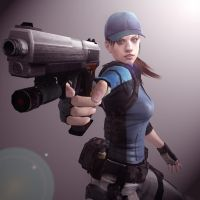 Jill Valentine BSAA by toughraid3r37890