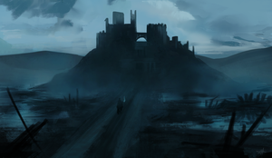 Game of Thrones screenshot study. The bog by ACicco
