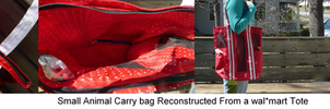 Reconed Small Animal Carry bag by Eliea