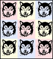 PopArt Wolfy. by ToniTurtle