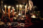 Yule 2012 Altar by DemonicFruitLoop