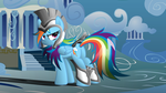 Commander 'Rainbow' Hurricane by RDbrony16