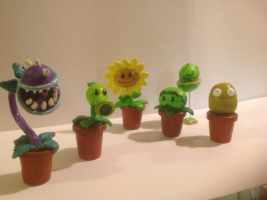 Plants vs Zombies: Plants by Spectral-Beanie
