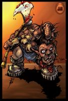 Bloody_Orc_Head by JANSSEM