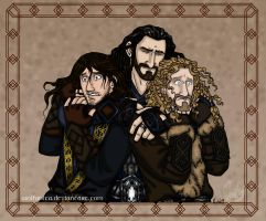 The Hobbit: Emotional Outburst by wolfanita