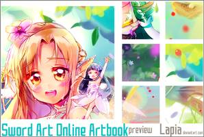 Preview: SAO SwordFragments Guest Art by Lapia