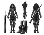 Warrior 2: redesigned armor by Leevitron