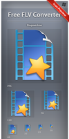 Icon Free FLV Converter by ncrow