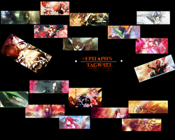 Epitaph's tag wall by Dreamtabloid