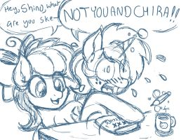 Definitely not Aggie and Chira by LateCustomer