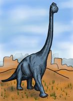 Brachiosaurus by HairyDalek
