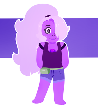 .:Steven Universe:. AMETHYST by Angry-Green-Pie