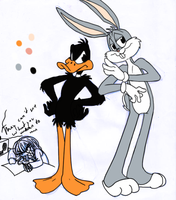 OMFG BUGS AND DAFFY by The-Bandkanon
