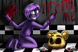 Purple Guy (Five Nights at Freddy's) by ArtyJoyful