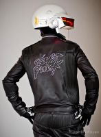 Daft Punk Back View by gstqfashions