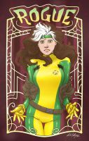 Marvel Nouveau - Rogue by MichaelMayne