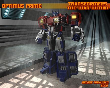 TWW Optimus Prime by georgetremarco