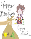 Happy Birthday Rufus Wild by Sr-Fadel