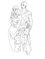 The Avatar's Family by SheWhoWalksWithThee