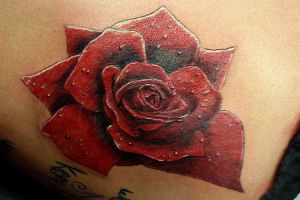 Rose Tattoo by BodyArtbyElf