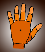CAMRISSER - android hand by DiggerShrew