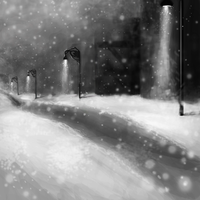Lonely Street. by Moesie