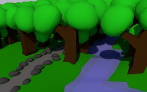 Lowpoly wood by nextranimations