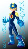Megaman:Rockman by AngelicPiggy