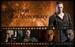 Evolution of a Mercenary by Isobel-Theroux