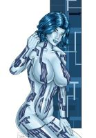 Halo: Cortana by PatrickS-Artist