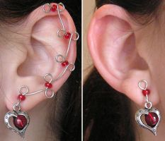 Sweetheart Ear Vines by lavadragon