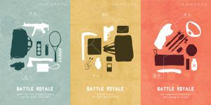 Battle Royale posters by ItsumiK