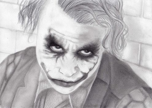 The Joker is a wanted man by twilightlovuuhhh