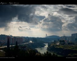 Podgorica - Before the rain by godislove