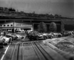 GT40 Slot cars by Doogle510