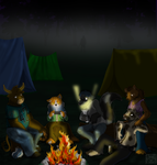 Camping on Fri. 13th by Songficcer