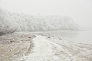 Frozen river by szorny-stock