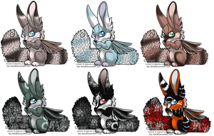 Cattael Adoptables :OPEN: by Okami-Heart