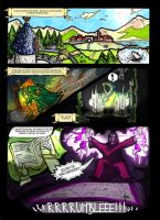 THE LEGEND OF ZELDA - THE CURSED DIMENSION (Comic) by crislink