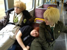 APH: Just another day..travelling with idiots.. by AutumnLegend