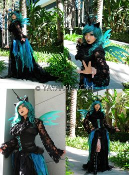 Queen Chrysalis - My Little Pony by yayacosplay