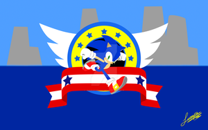 Super Smash Bros Wii U/3DS - Sonic The Hedgehog by JuanjoseSA97