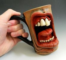 Dental Tongue Mug- FOR SALE on Ebay by thebigduluth