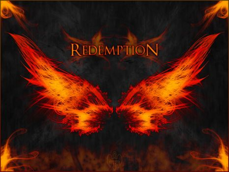Infernal Wings of Redemption by DarkPhoenixFri13