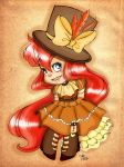 OC: Steampunk_Girl by asami-h