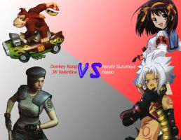 Games VS Anime by RudeEmperor3