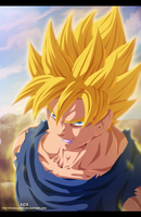 Goku Super Saiyan by the103orjagrat