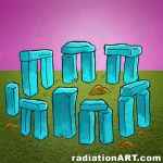 stone circle by RossRadiation